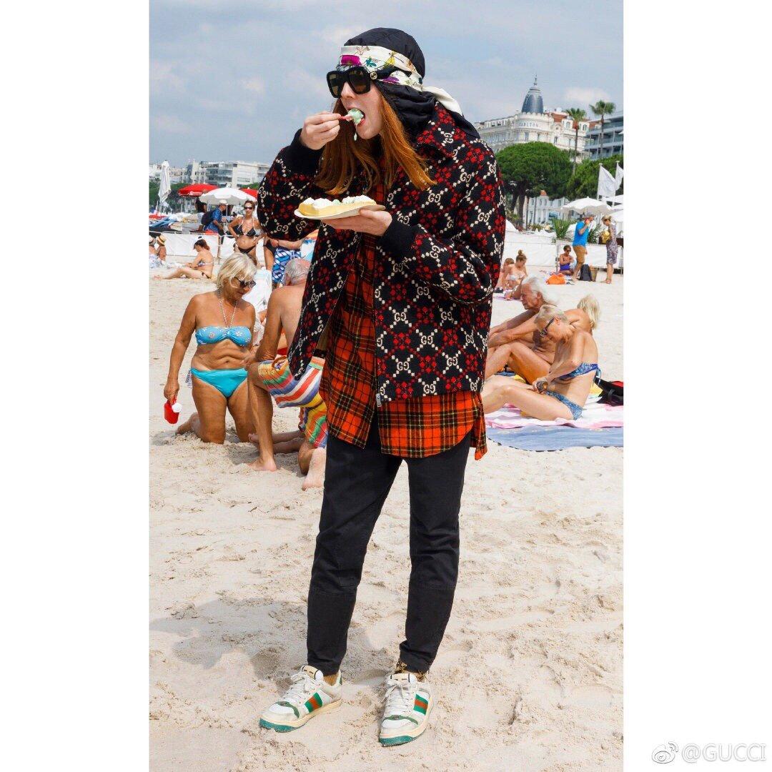 Gucci/Screener系列运动鞋代购版本 古琦系列做旧小脏鞋(图5)