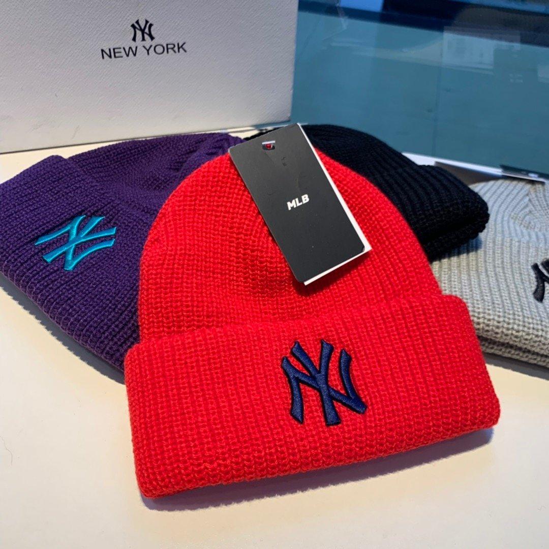 韩国MLB爆款毛线帽原单品质男女通用