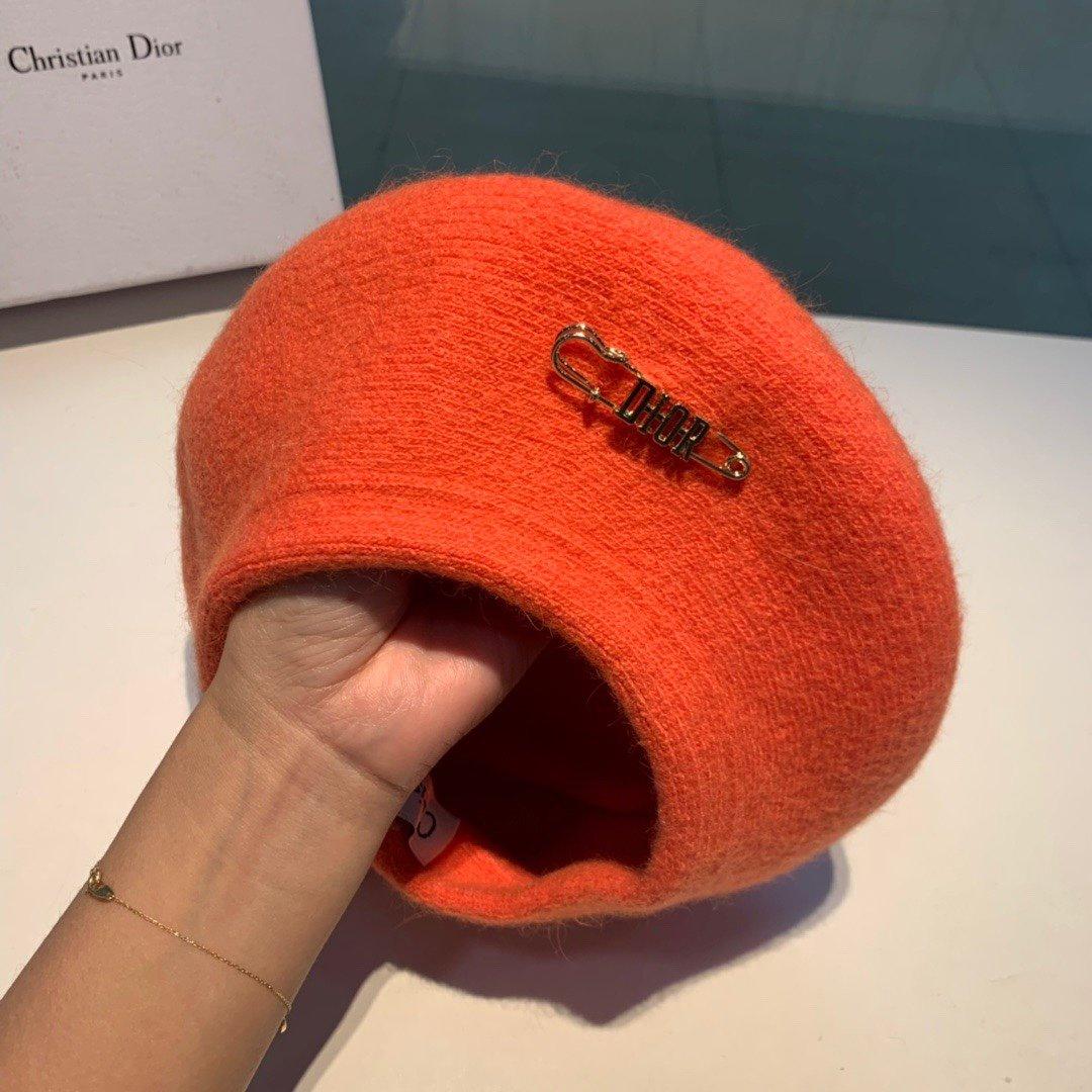 Dior迪奥2019秋冬新款贝雷帽羊