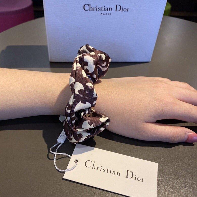 Dior迪奥原单进口真丝肠圈专柜1: