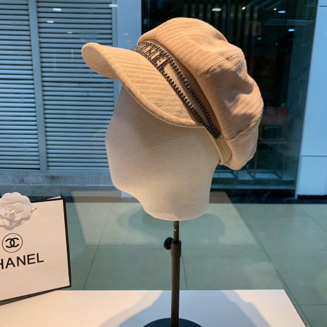CHANEL香奈儿新款八角帽上新20