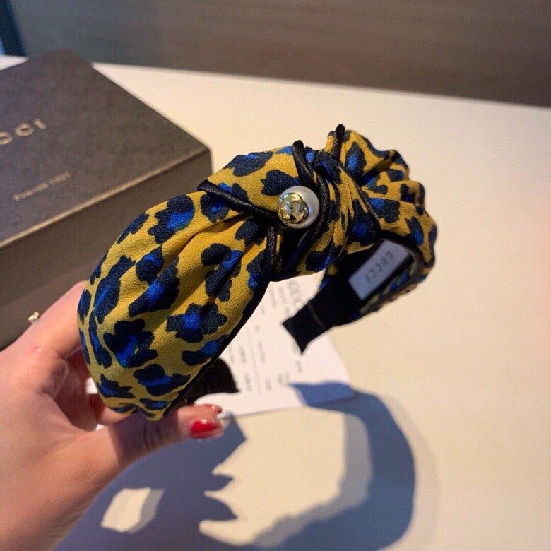 Gucci古奇2019新款发箍绸缎面