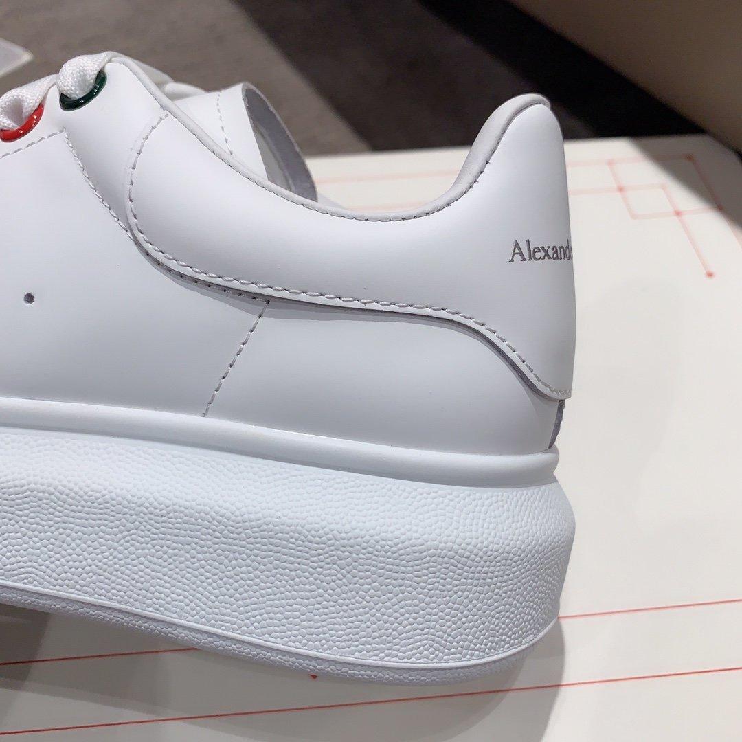 Alexander mcqueen全新升级 小白鞋疯 彩虹系列(图7)