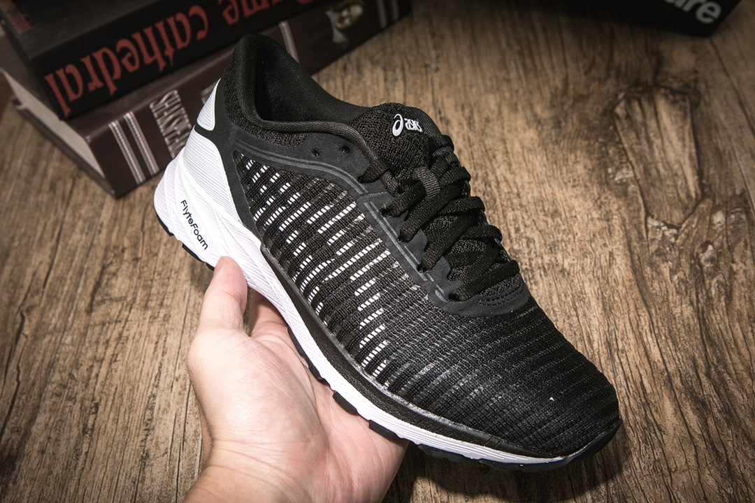 ???今日上新? ASICS 亚瑟士 DynaFlyte 102 女竞速跑鞋 官方尺码 36 37 37.5 38 39 39.5 40颜色:黑白