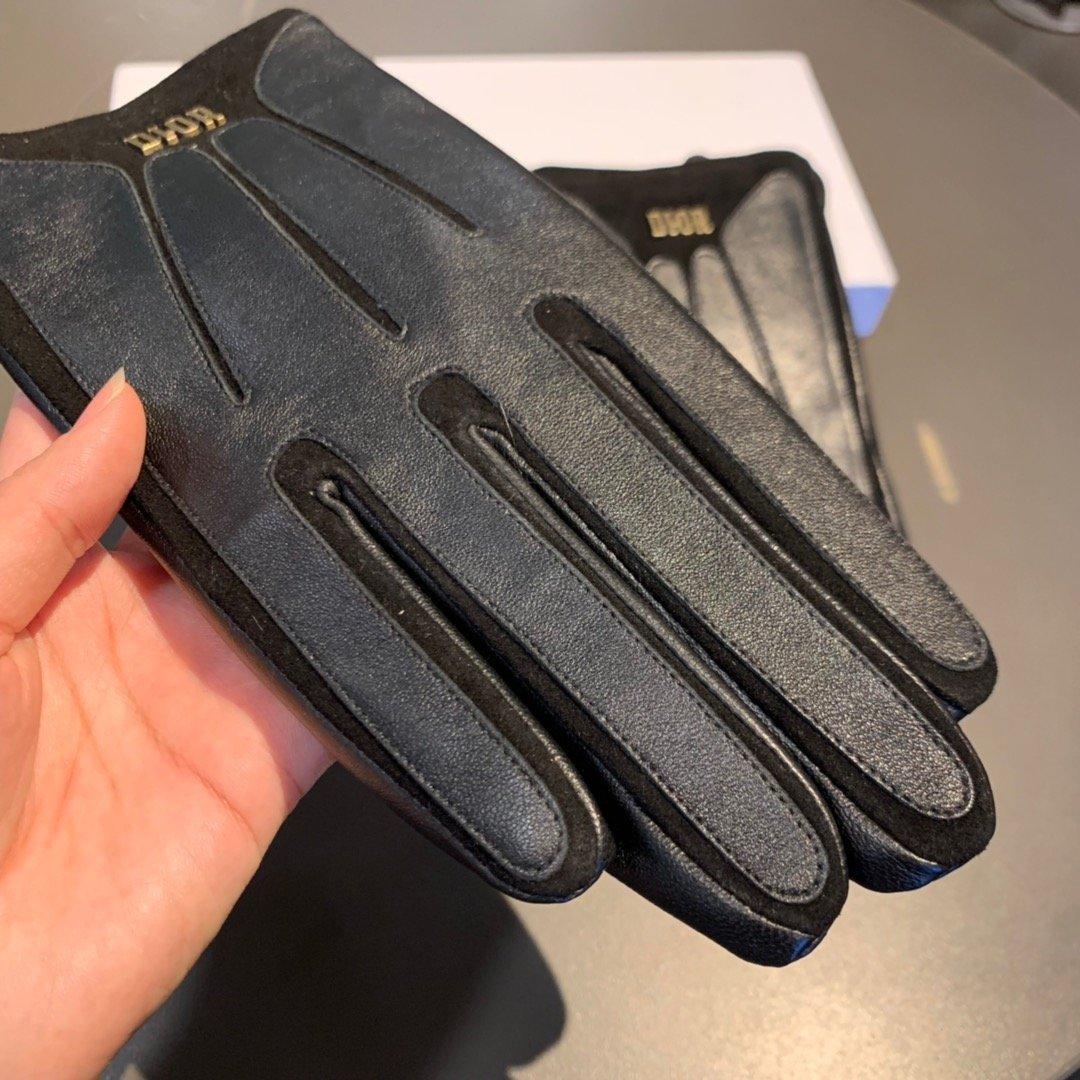 配包装Dior迪奥男士手套独家定制进