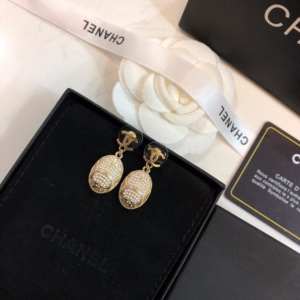 新款出货Chanel香奈儿耳钉小香市