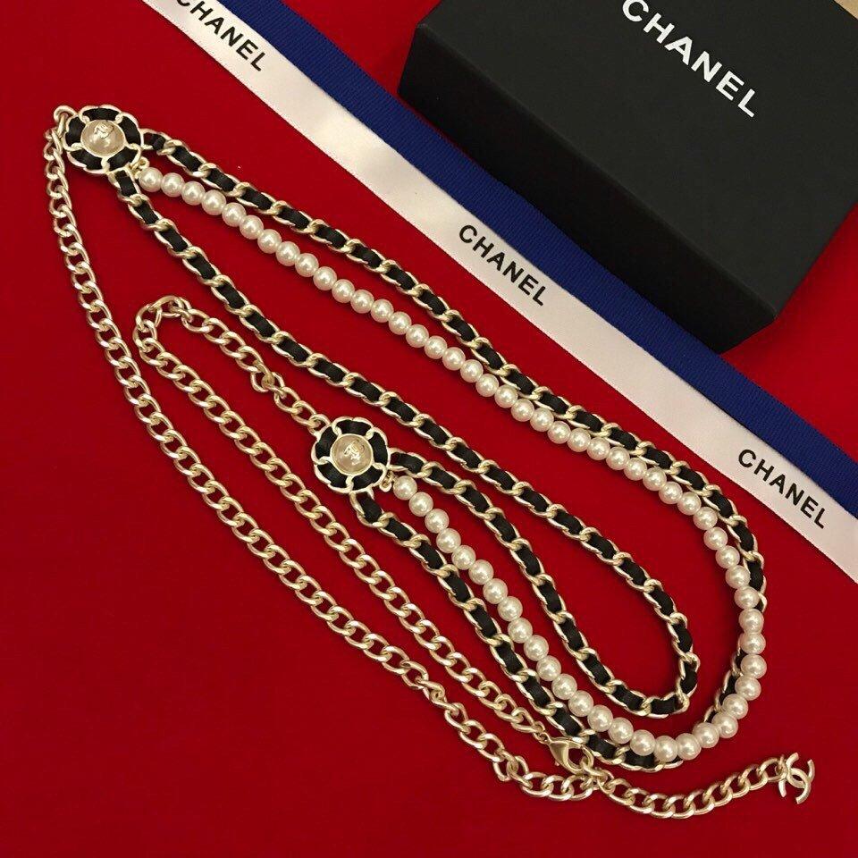 耐看百搭新款Chanel小香珍珠三层