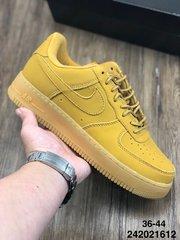 100真标半码耐克Nike小麦色耐克NikeAirForce1High07LV8Flax空军一号经典百搭板鞋麦黄216242021612