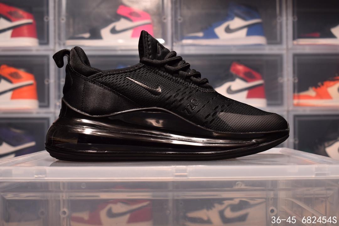 Nike Air Max 720/270 耐克全掌气垫贾卡面透气跑鞋 size:如图 编码:682454S