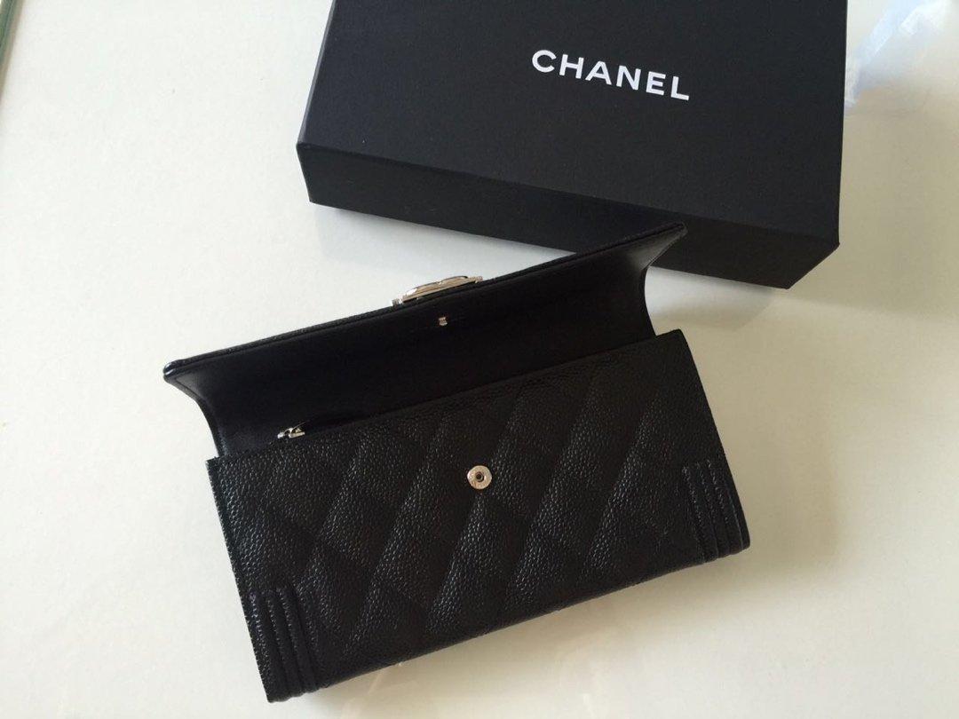 Chanel经典版本 细球纹皮两折 原单品质 (图3)