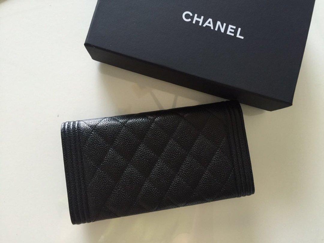 Chanel经典版本 细球纹皮两折 原单品质 (图2)