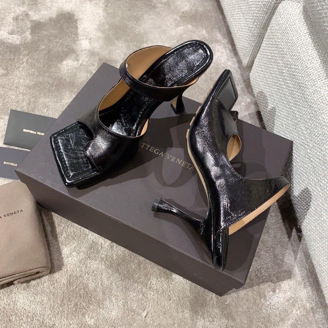 Bottega veneta2020早春新款羊皱漆女鞋(图4)
