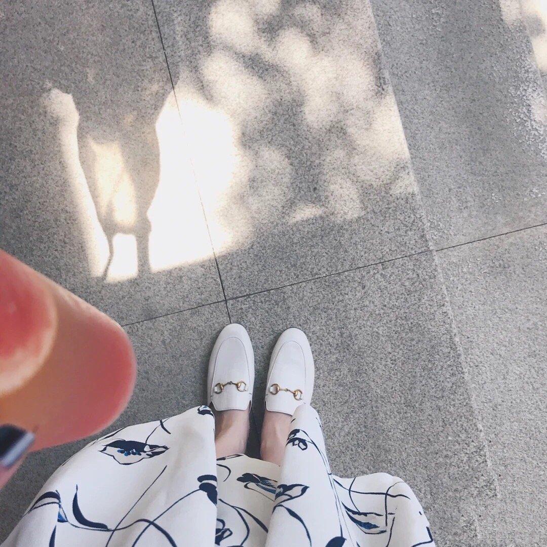 GUCCI经典马衔扣半拖鞋 穆勒鞋代购级(图5)