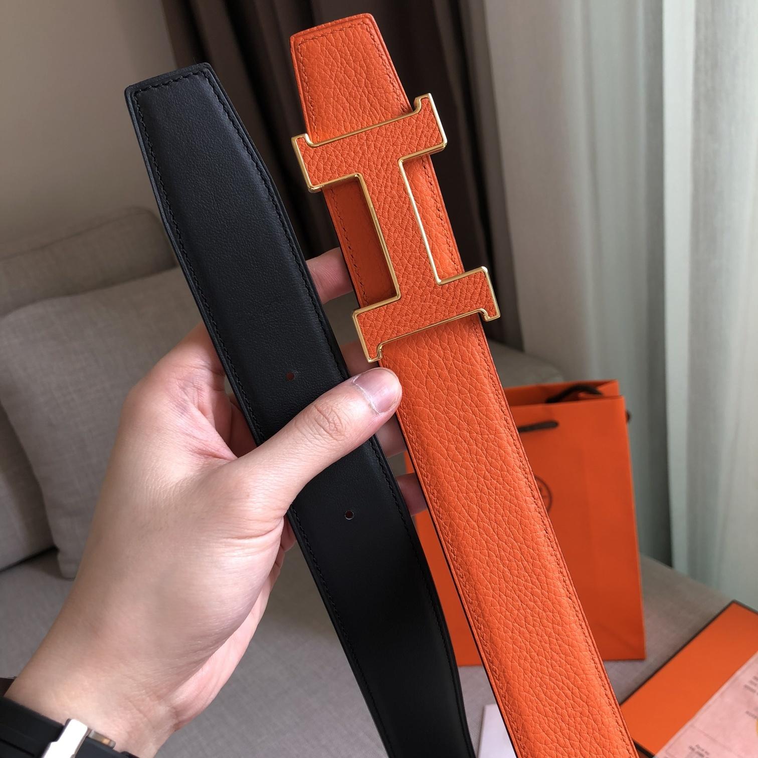 爱马仕Hermes官网同步38MM腰带(图1)