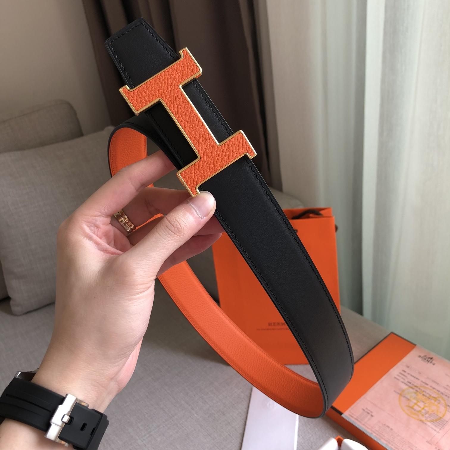 爱马仕Hermes官网同步38MM腰带(图3)