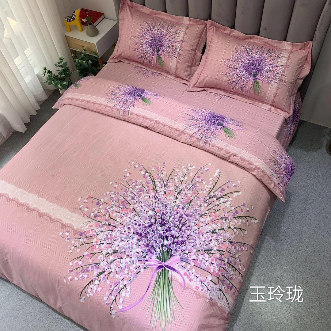 2019全棉磨毛 9个花