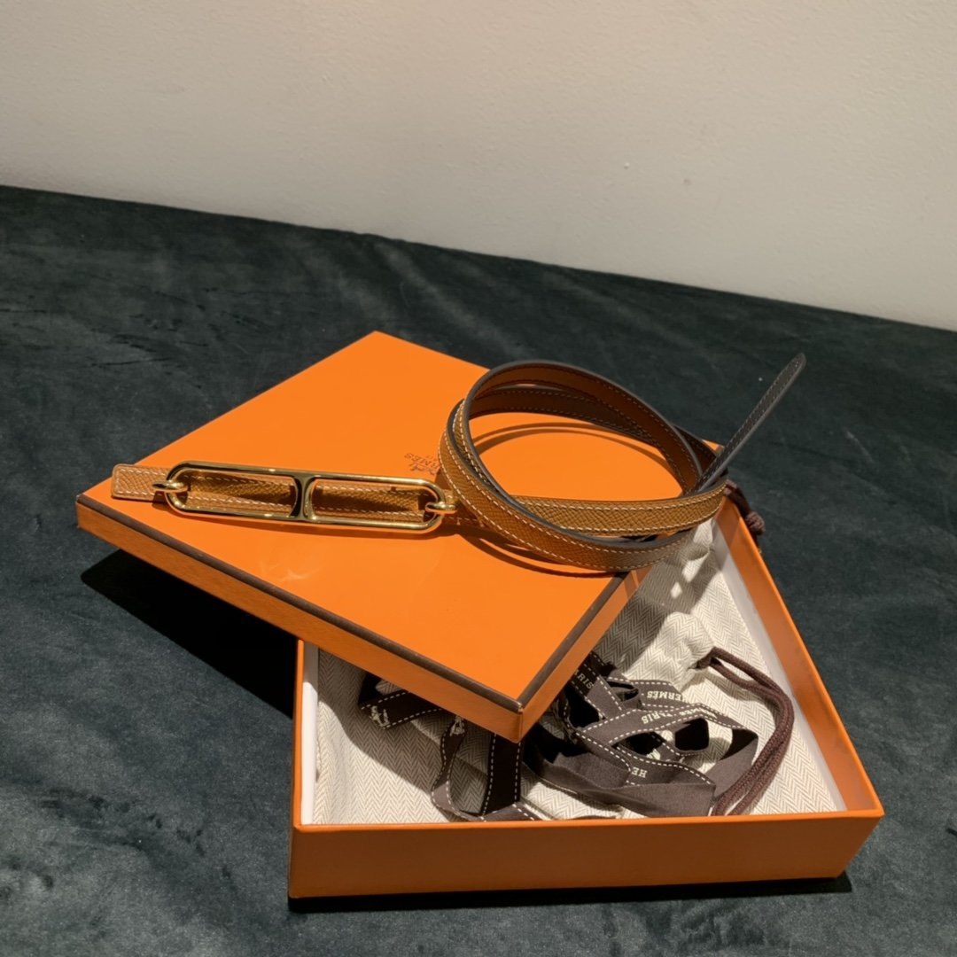 爱马仕Hermes意大利进口头层手掌纹牛皮配平纹纯铜扣(图14)