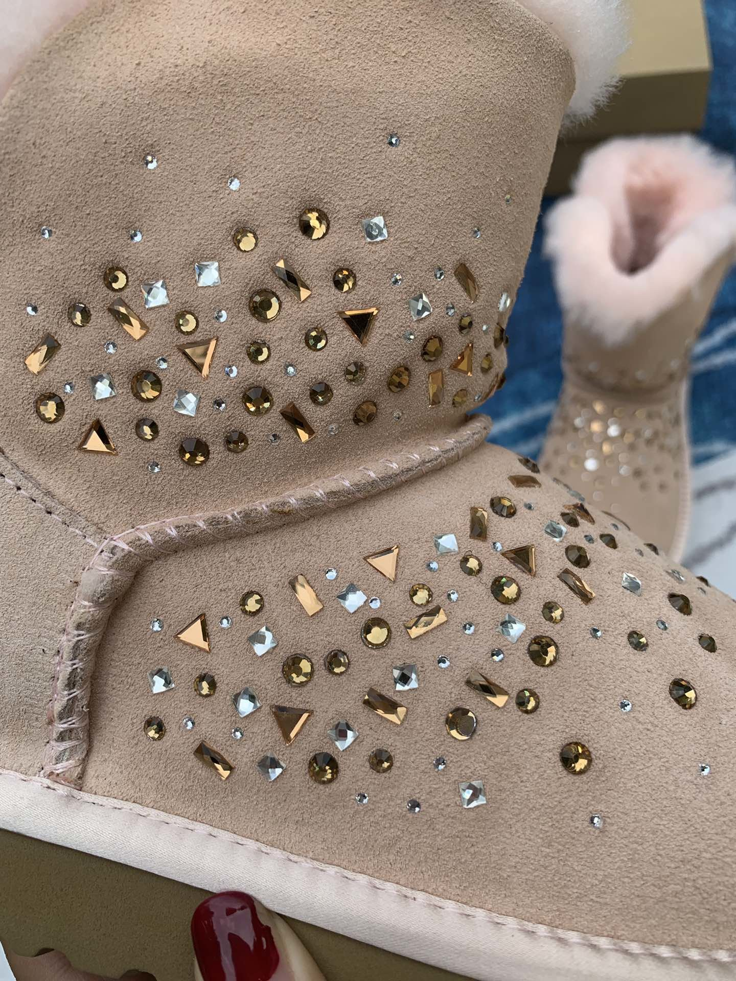 UGG2019冬季新款女士雪地靴经典