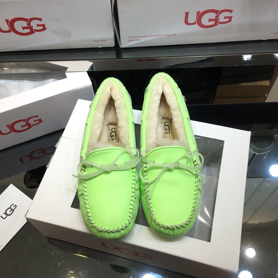 ugg夜光马卡龙豆豆鞋2019UGG