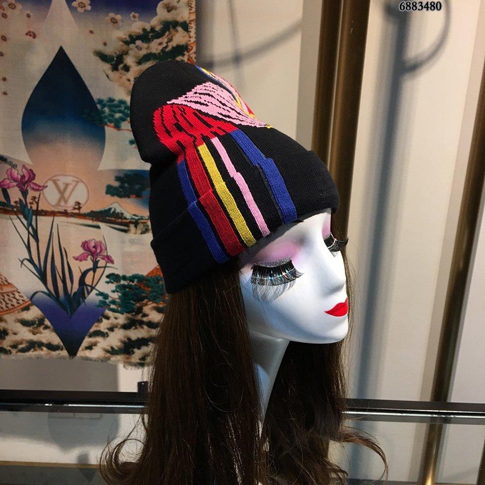 芬迪FENDI毛线帽简约大气日系毛线