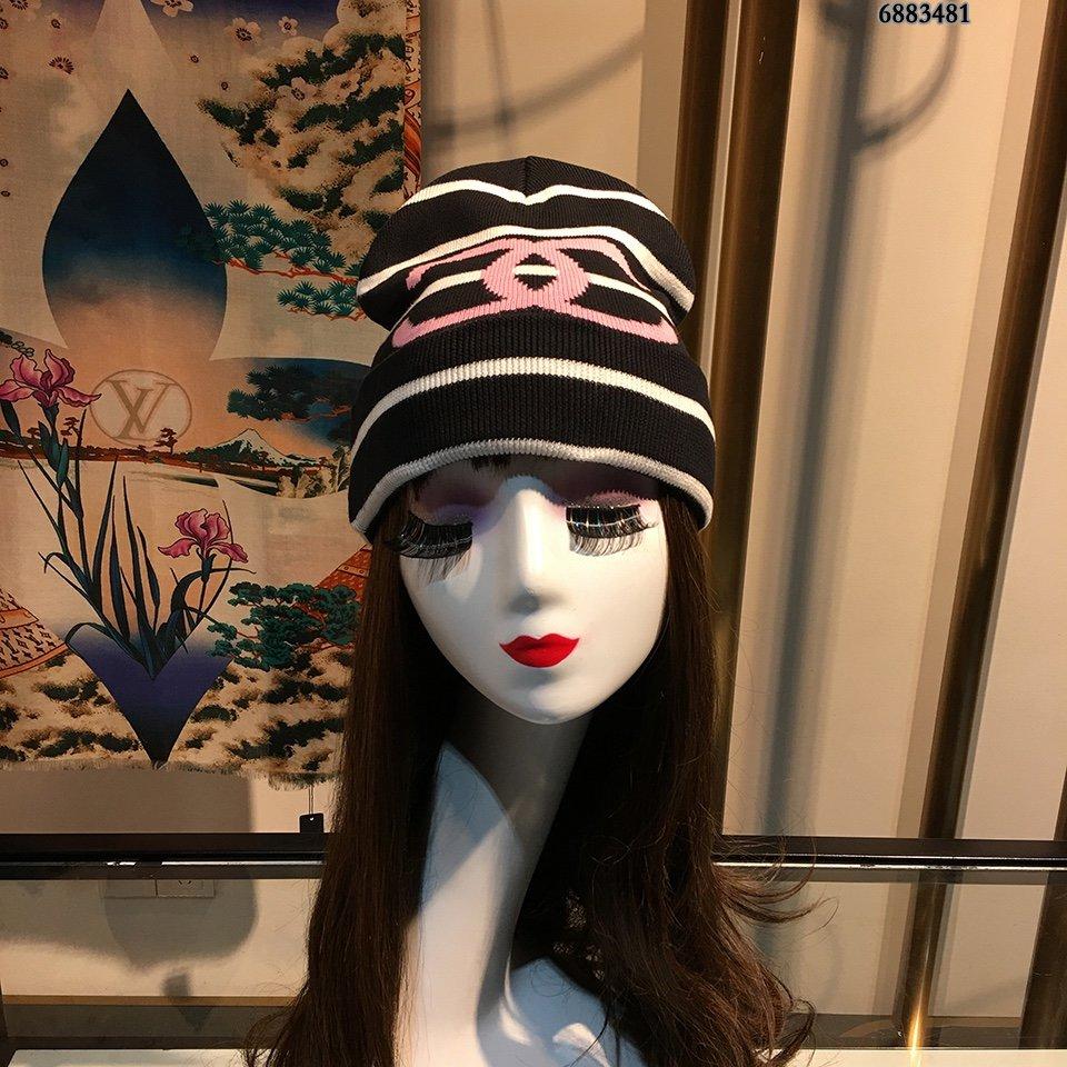 CHANEL香奈儿毛线帽简约大气日系