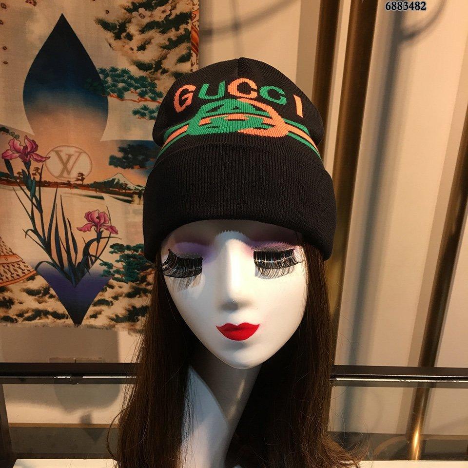 古奇Gucci毛线帽简约大气日系毛线