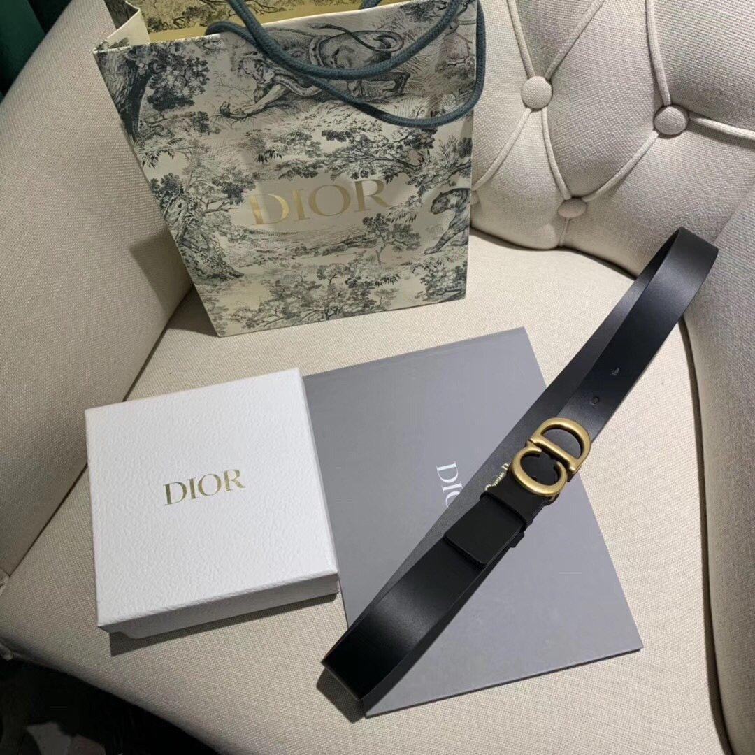 Dior 时尚女款新品cd暗锁铜扣专柜同款(图11)