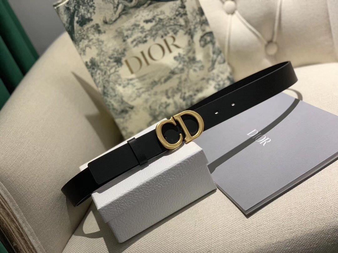 Dior 时尚女款新品cd暗锁铜扣专柜同款(图12)