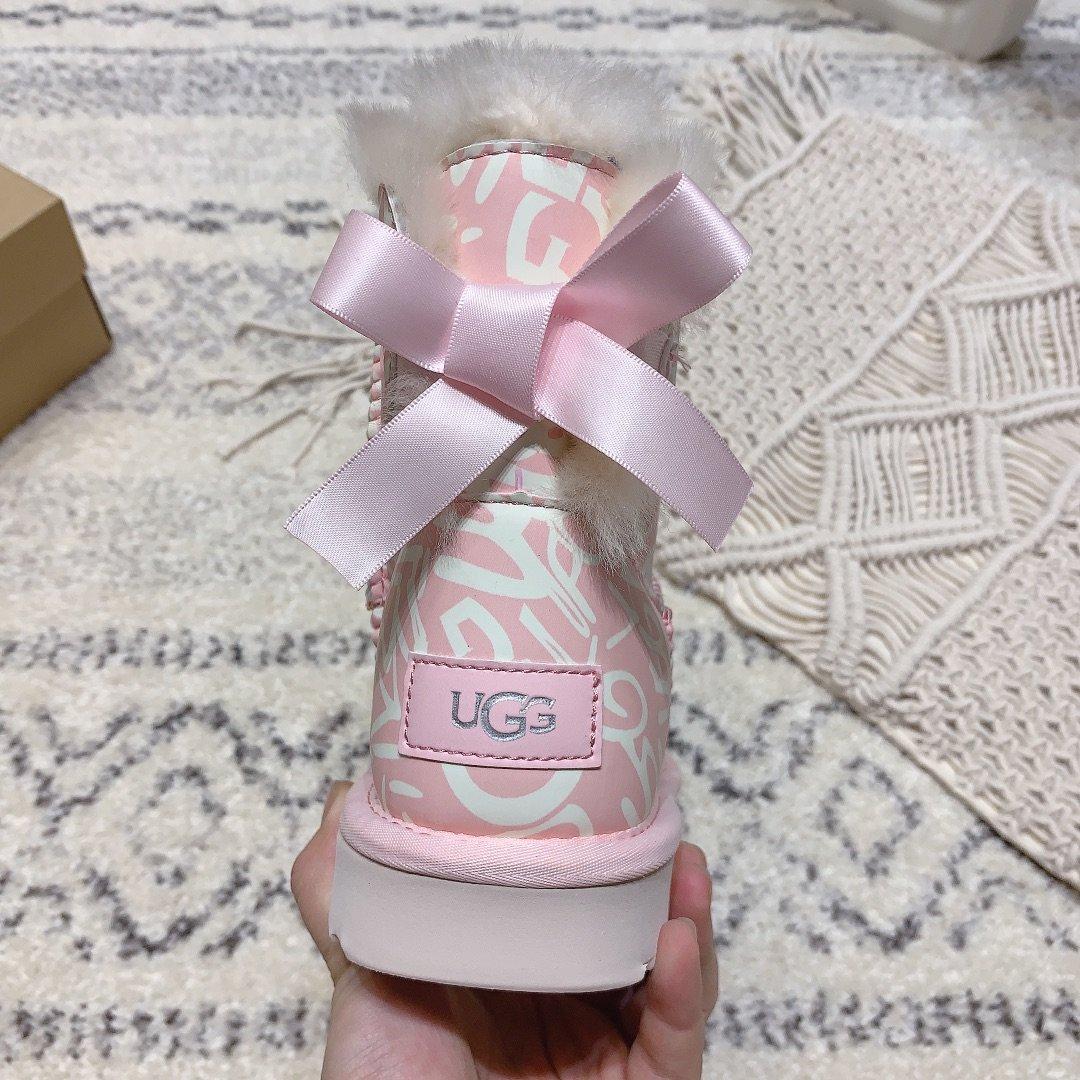 UGG独家新款亲子系列儿童-10粉粉