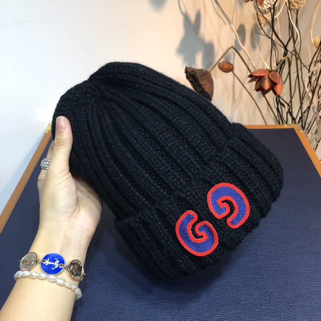 古奇GUCCI专柜新品GG字母针织毛