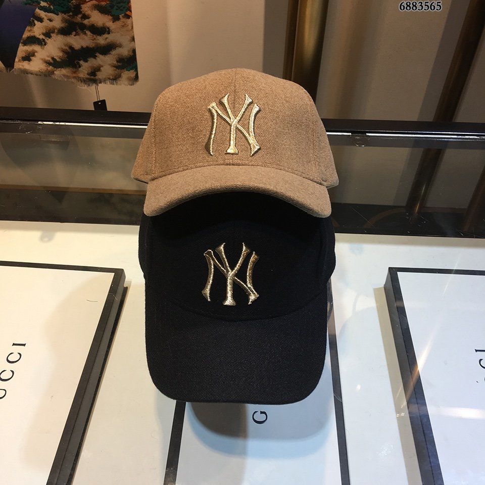 NY棒球帽美美哒简约大气[爱心]时尚