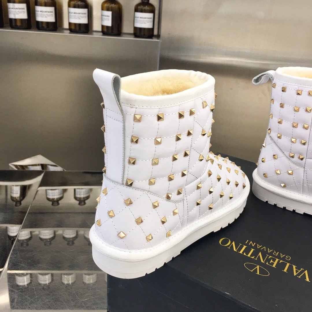 Valentino冬季雪地靴预定对版