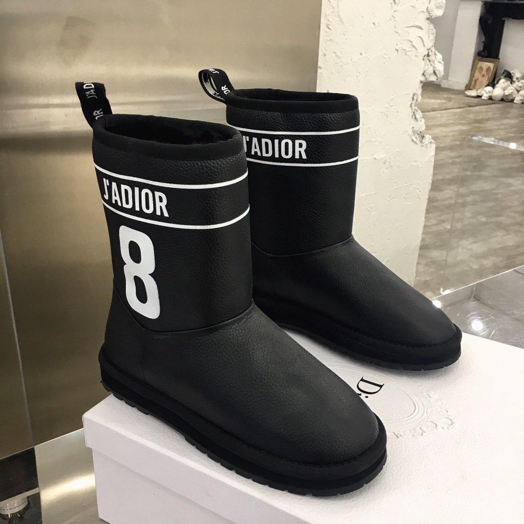 Dior经典重现雪地靴秋冬季最有高级