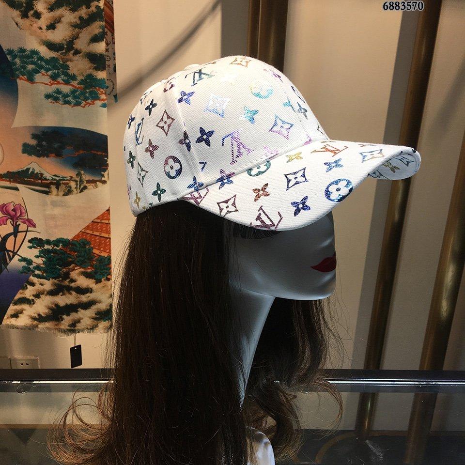 路易威登LV原单帽子进口刺绣logo