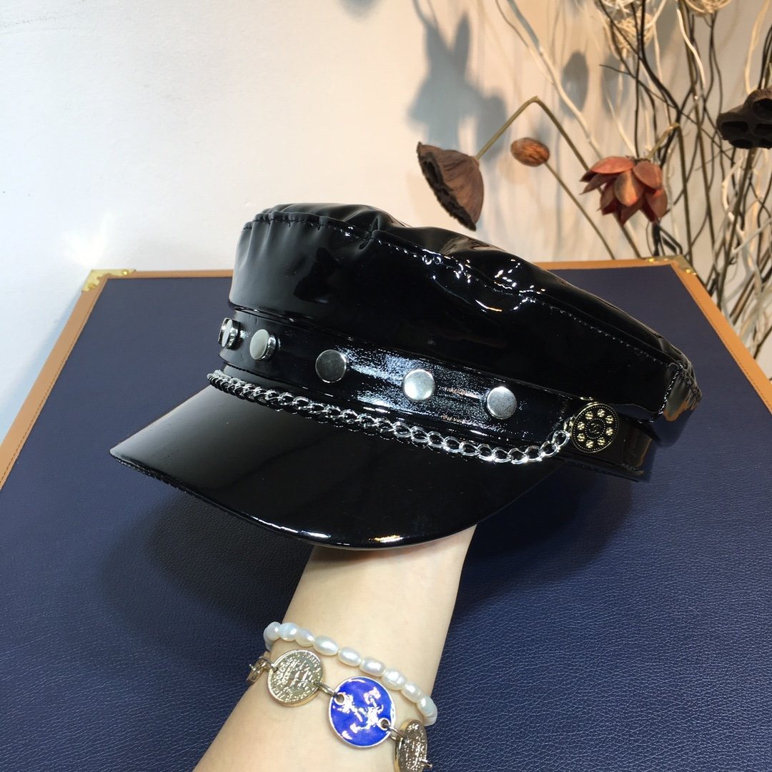 CHANEL香奈儿新款海军帽专柜代购