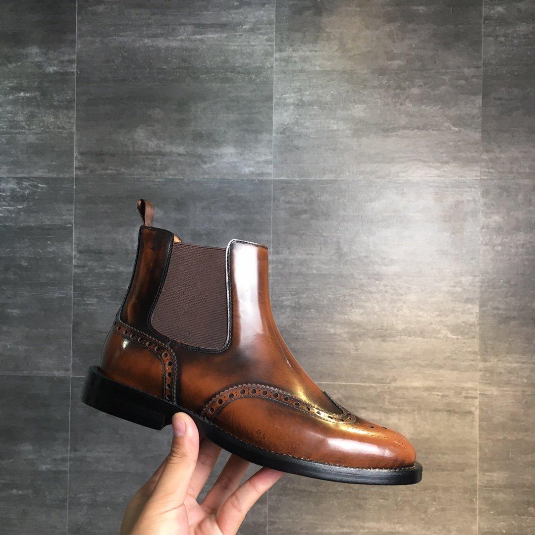 情侣款男女款Churchs切尔西短靴