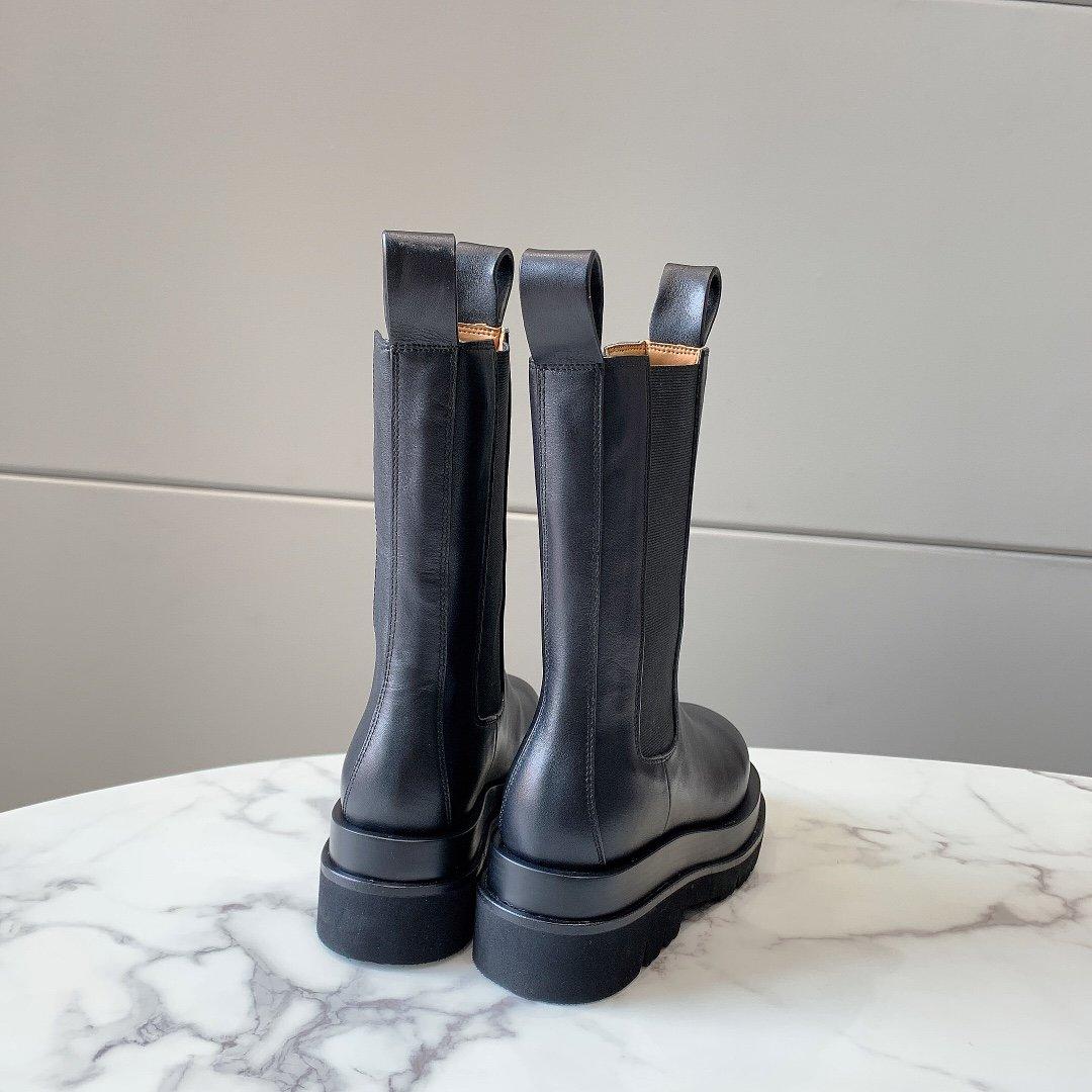 bv最新松糕厚底短靴今年最帅的靴子非