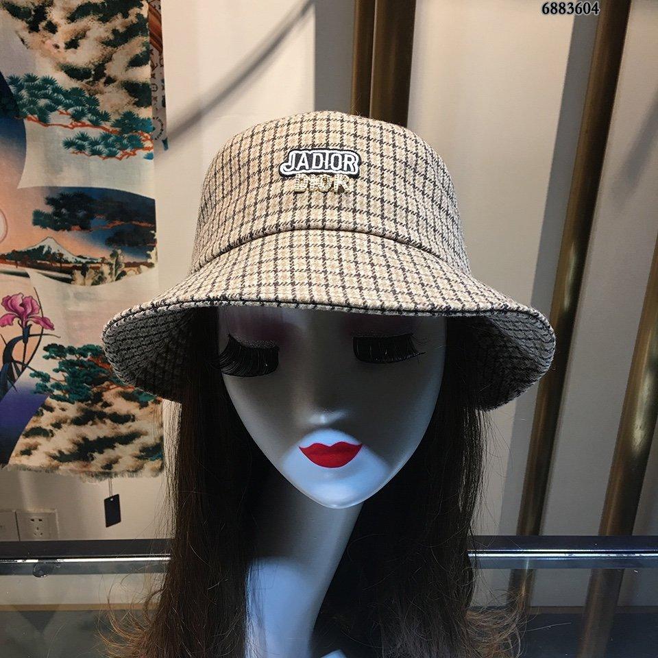 Dior迪奥新格子渔夫帽2019新款