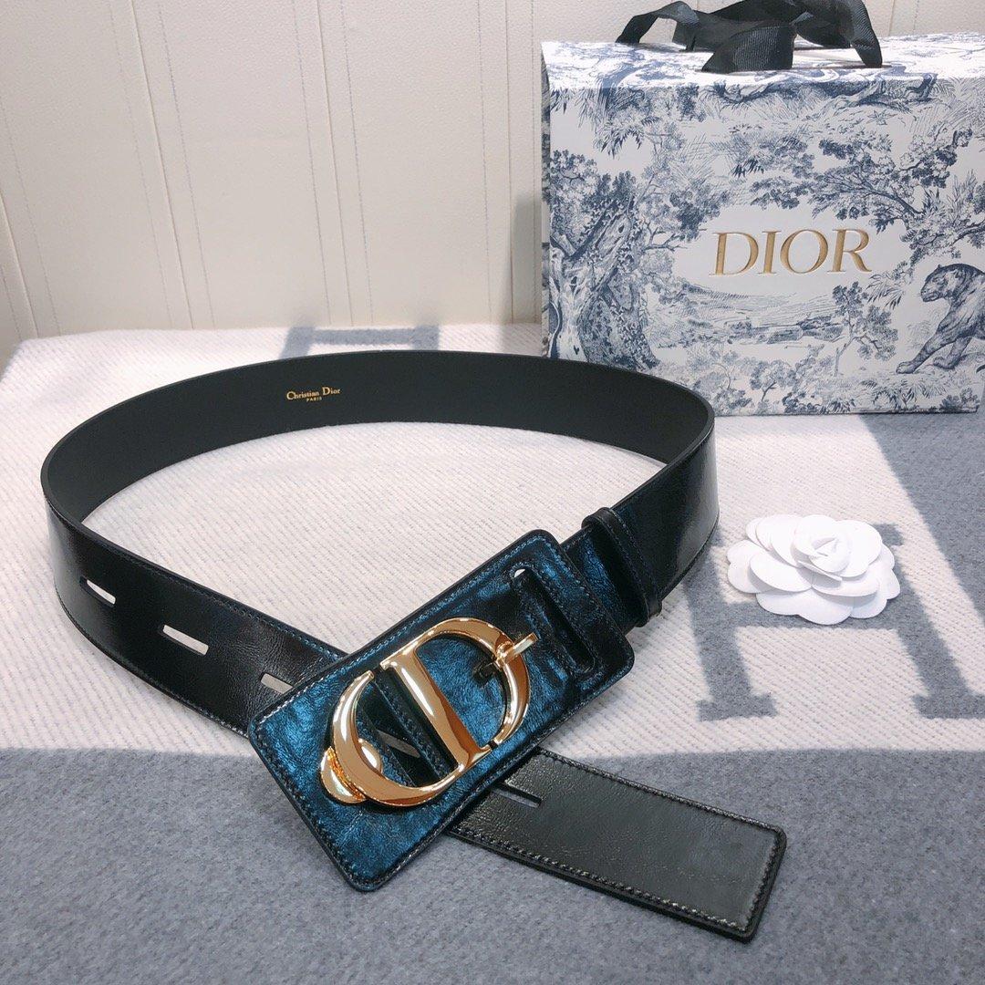 Dior 时尚女款新品cd暗锁铜扣专柜同款(图3)