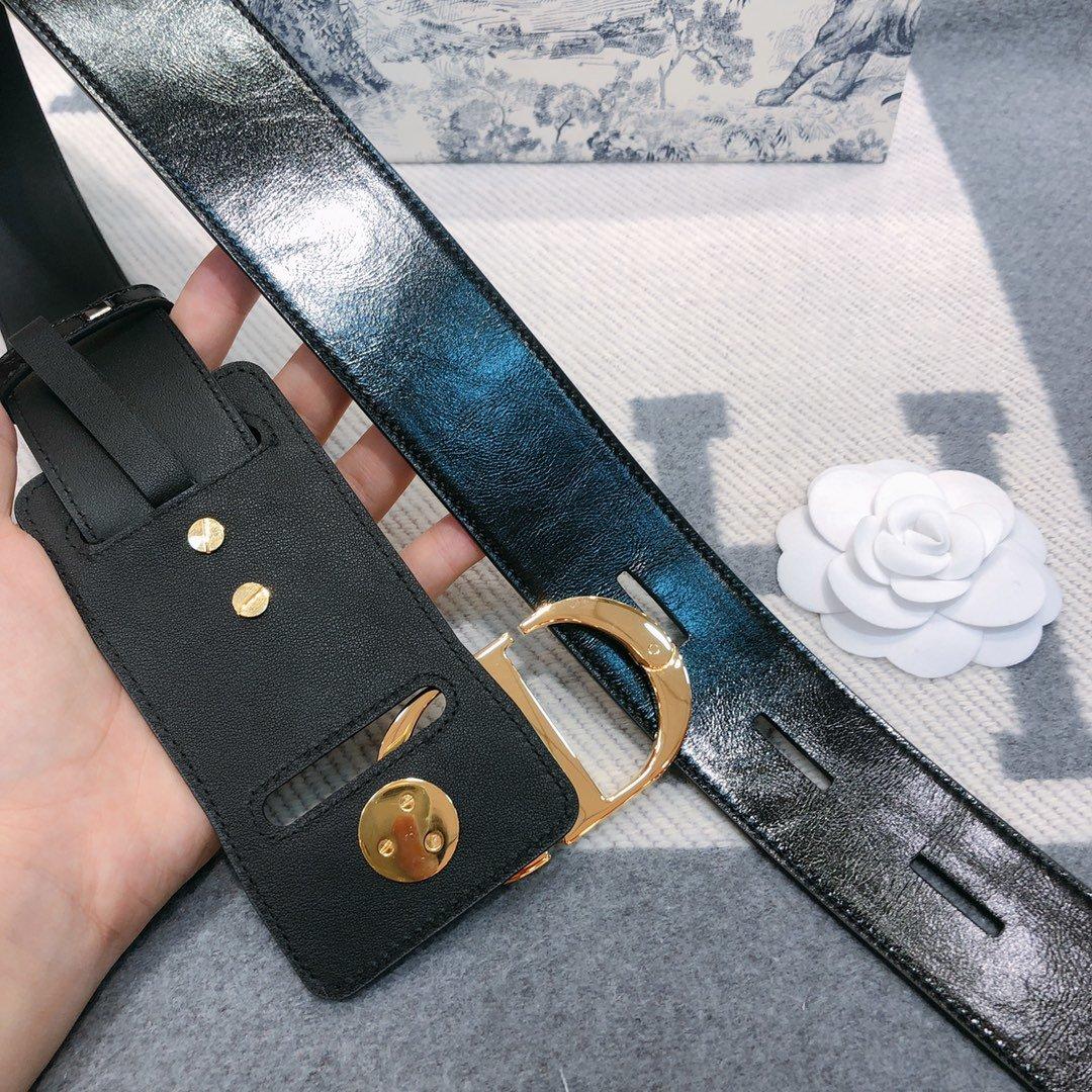 Dior 时尚女款新品cd暗锁铜扣专柜同款(图10)