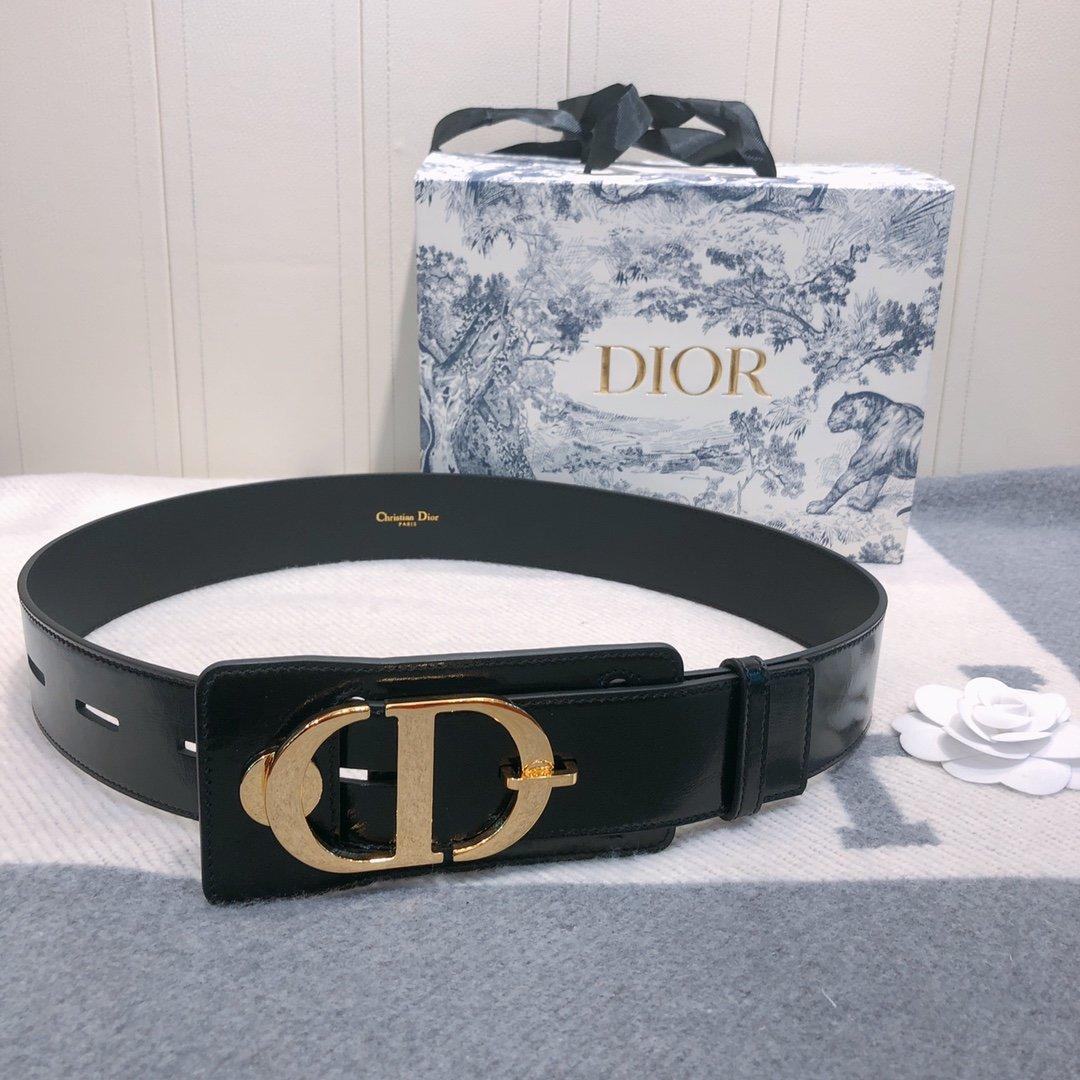 Dior 时尚女款新品cd暗锁铜扣专柜同款(图4)