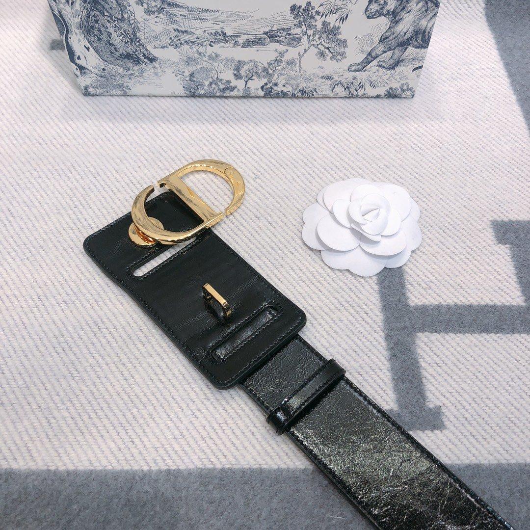 Dior 时尚女款新品cd暗锁铜扣专柜同款(图7)