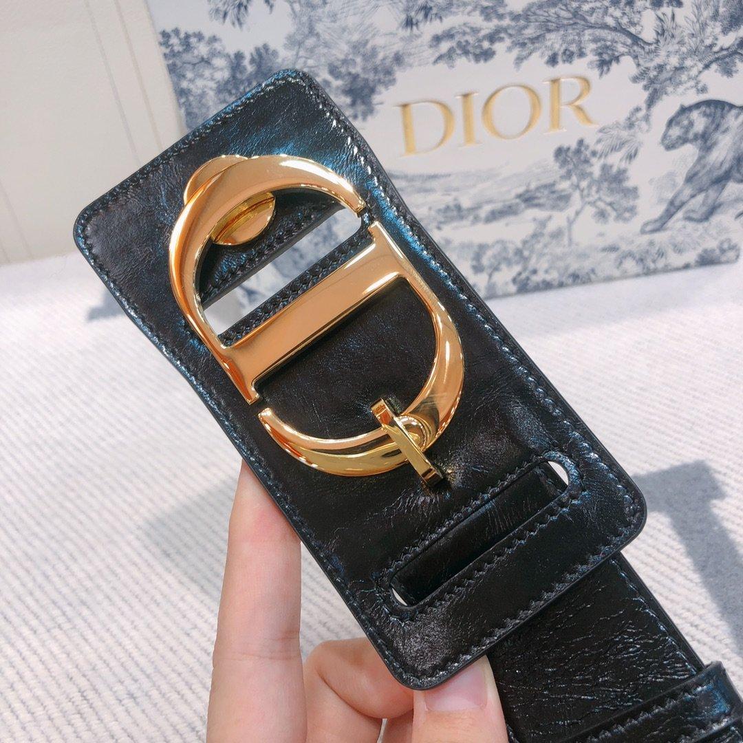 Dior 时尚女款新品cd暗锁铜扣专柜同款(图8)