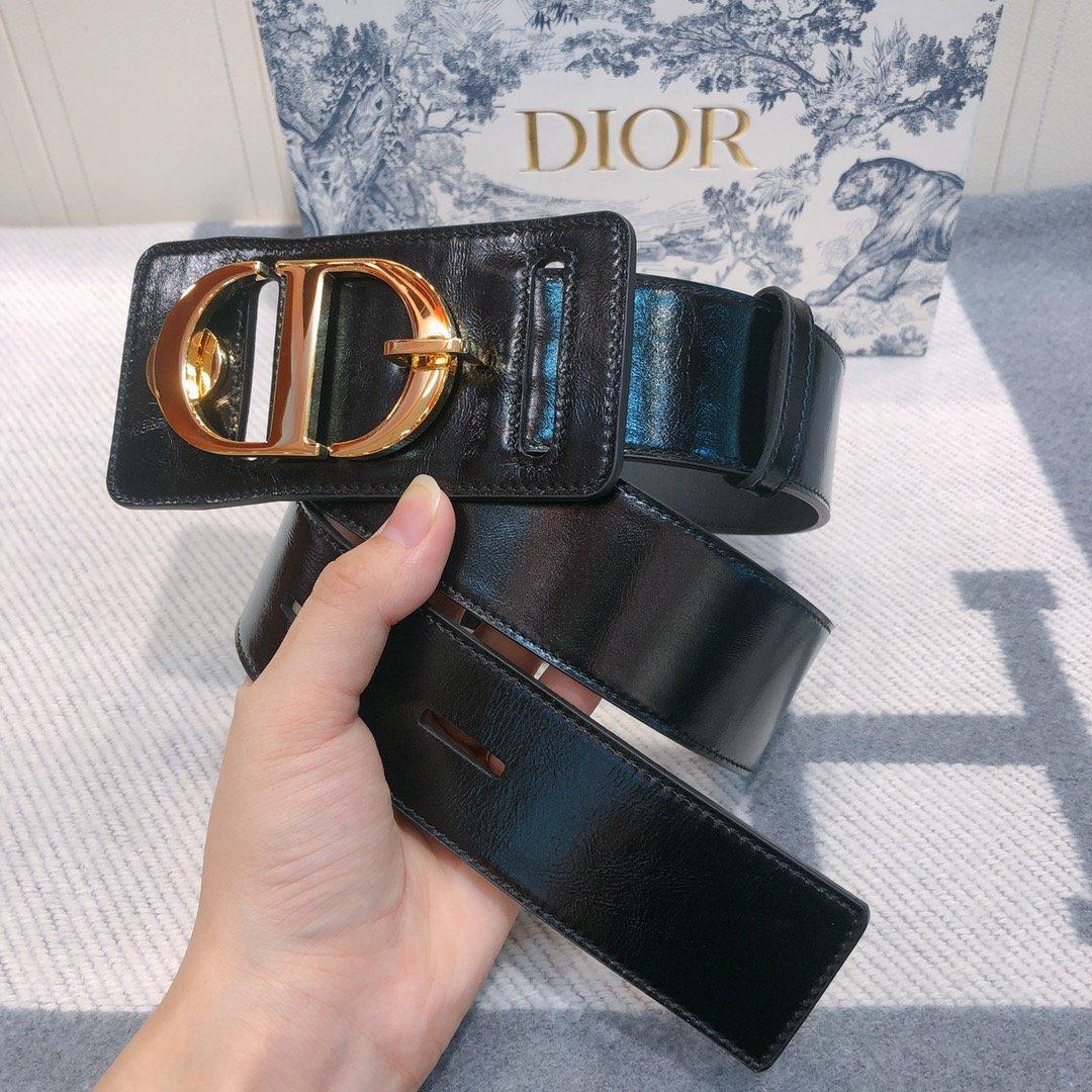 Dior 时尚女款新品cd暗锁铜扣专柜同款(图5)