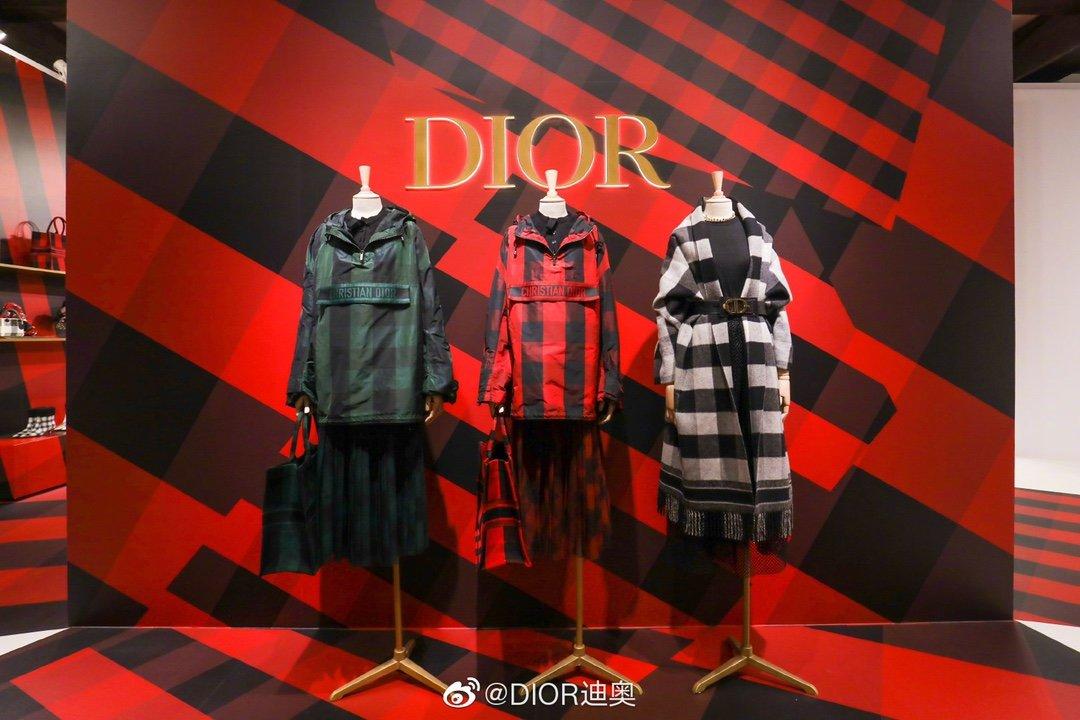 Dior 时尚女款新品cd暗锁铜扣专柜同款(图1)