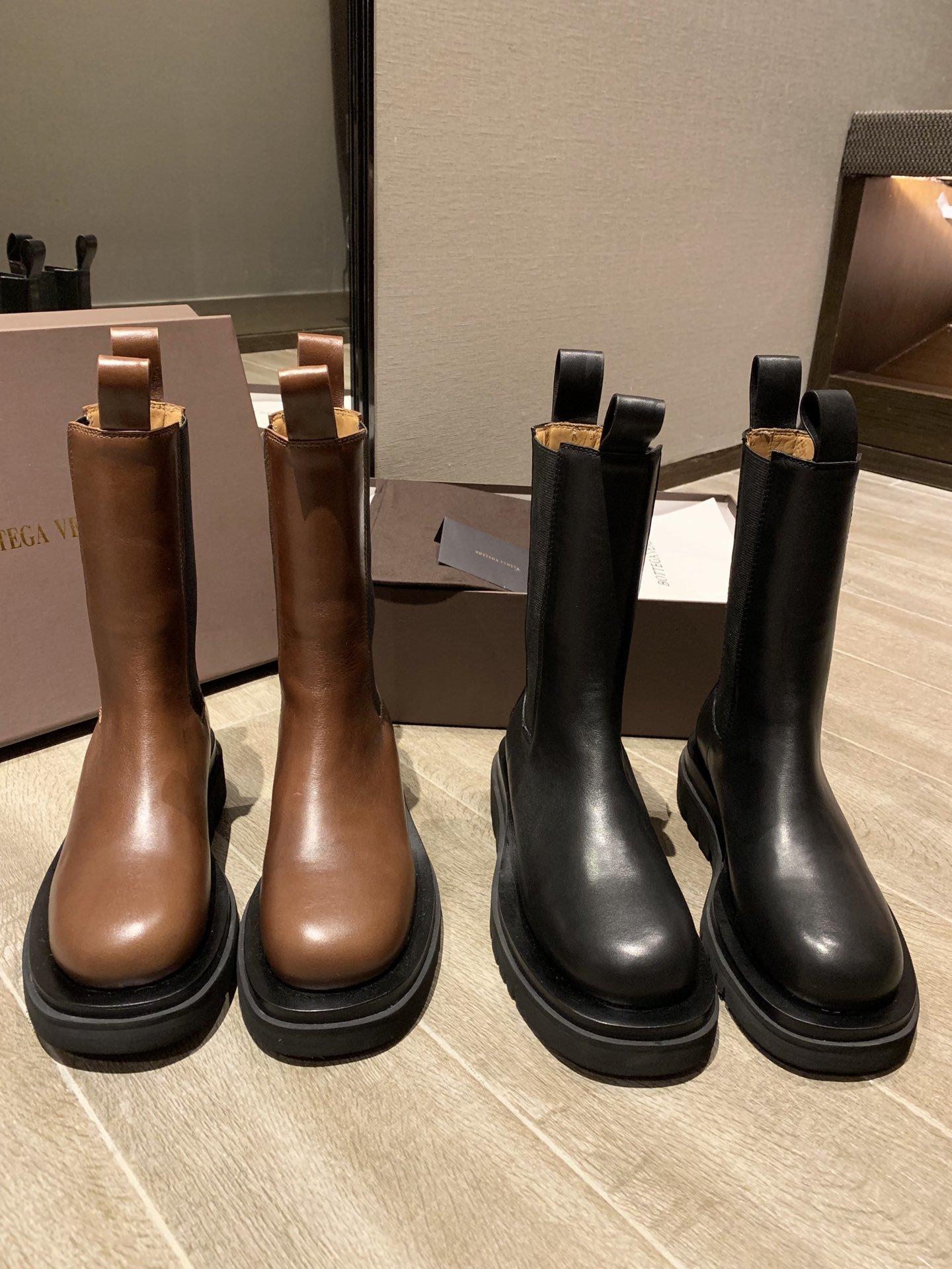 BV专柜新款中筒靴势不可挡的爆款上脚