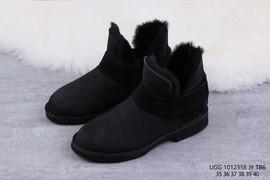 260UGG 1012358 黑色 McKay 摩登街头短靴迷你女靴尺码35 36 37 38 39 4