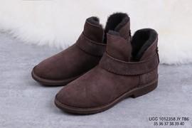 260UGG 1012358 咖啡色 McKay 摩登街头短靴迷你女靴尺码35 36 37 38 39 4