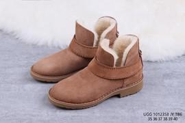 260UGG 1012358 栗色 McKay 摩登街头短靴迷你女靴尺码35 36 37 38 39 4