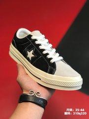 110尺码3544品牌匡威 Converse 简介Converse One Star 吊打通货版本 磨砂麂皮 硫化工艺 日系一星系列板鞋 编码310q32